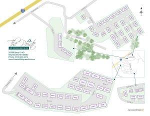 Pointe at Waynesville site map